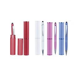 Bolígrafo con tubo cilíndrico
