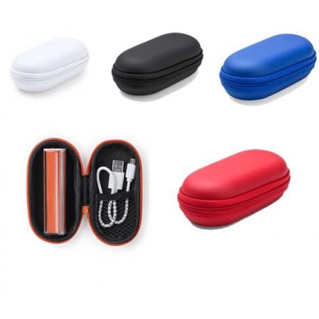 Power bank o batería externa con carcasa transparente para móviles o tablet