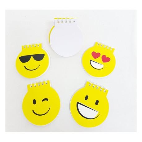 Libreta smiles amarillos