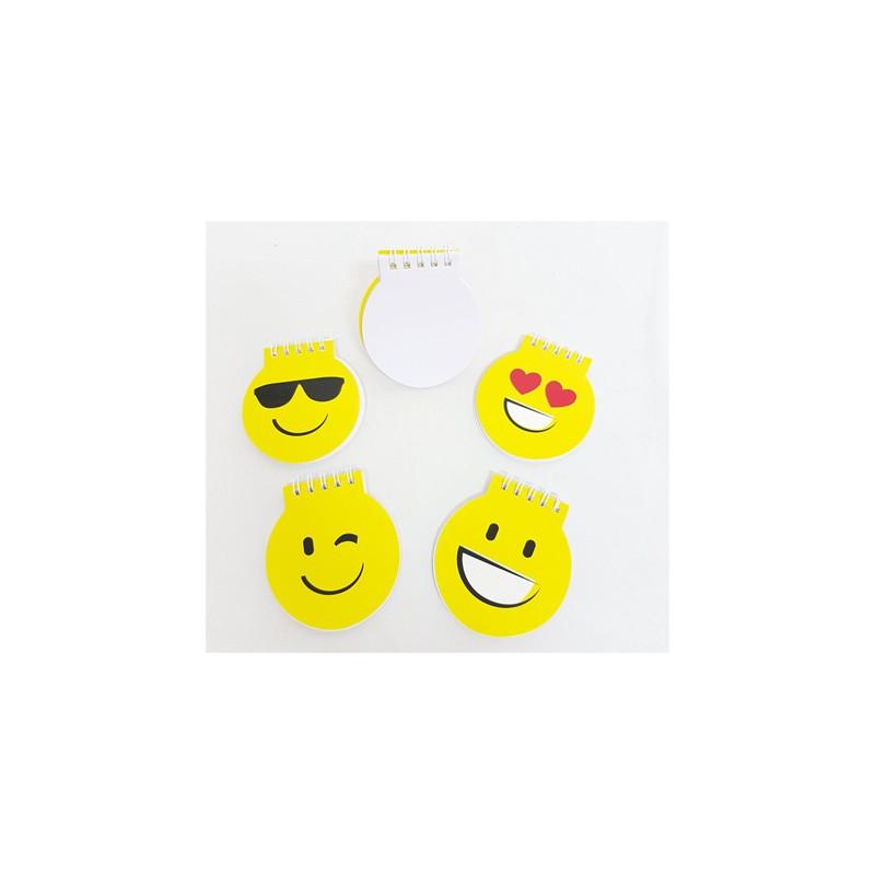 Divertida libreta smiles. Regalos originales y baratos para niños
