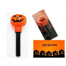 Antorcha Calabaza Halloween, funciona con pilas