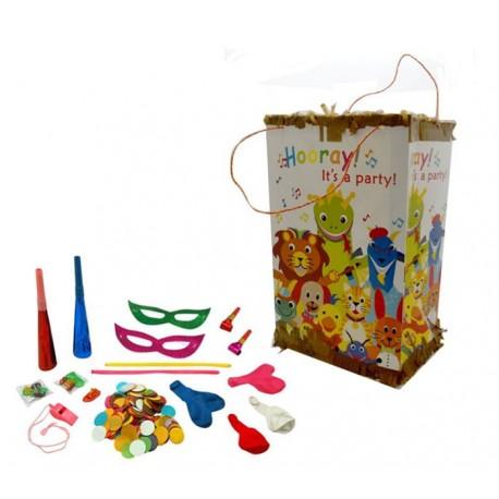 Piñata con relleno para fiestas de niños