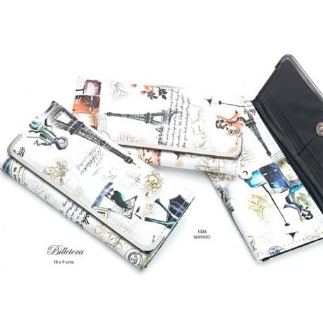 Billetera con original estampado