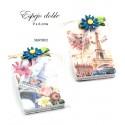 Espejo doble Torre Eiffel en bolsa y tarjeta