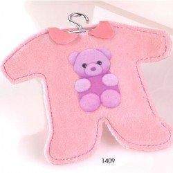 Pijama perfumado con perchita rosa