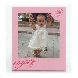 Marco de fotos baby rosa
