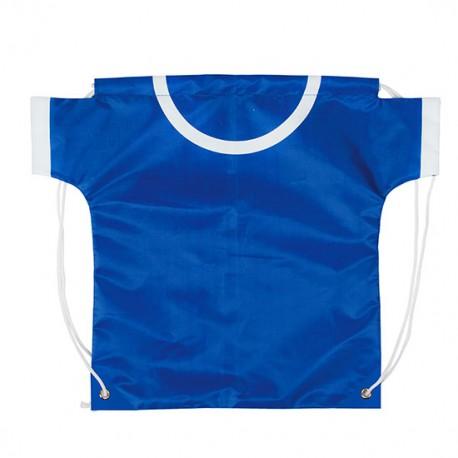Mochila camiseta azul
