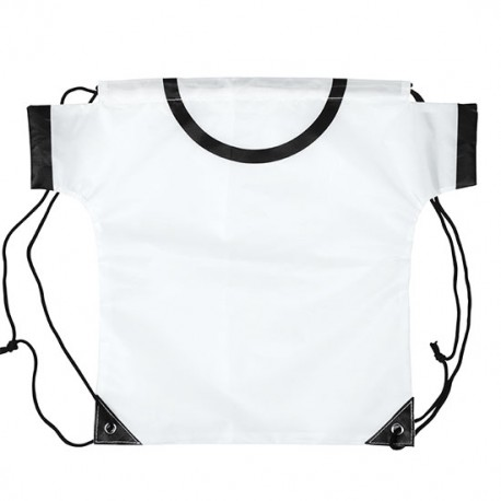 Mochila camiseta blanca