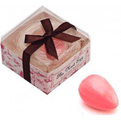 Jabón huevo nido en caja regalo