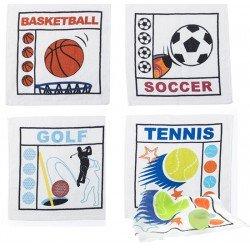Toalla plegada deportes