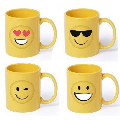 Mug o taza Emoji, 4 diseños distintos