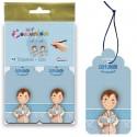 Bolsa 12 etiquetas para los detalles niño con Biblia