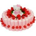 Tarta nubes con figura Hello Kitty 500 grs.