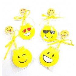 Libreta y lápiz con goma grande emoji