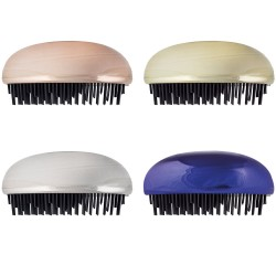 Cepillo pelo oval colores metalizados