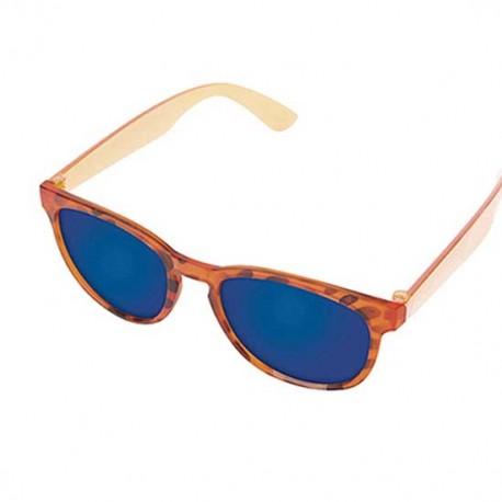 Gafas de sol con acabado leopardo