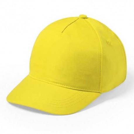 Gorra de niño amarilla