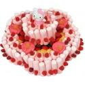 Tarta chuches y nubes con figura de Hello Kitty 1000 grs.