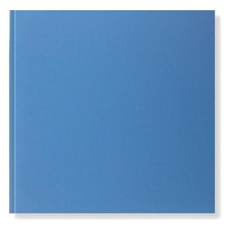 Libro de firmas para boda Azul brillo, sin personalizar