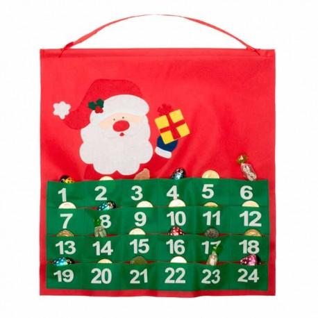 Calendario navideño de Adviento Santa Claus