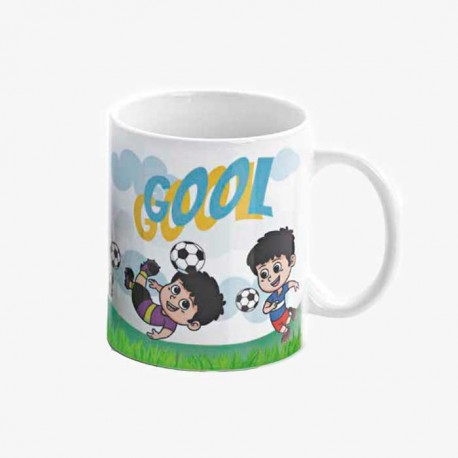 Taza regalo para Comunión niño Futbolista