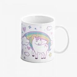 Taza regalo para Comunión Unicornio, personalizable