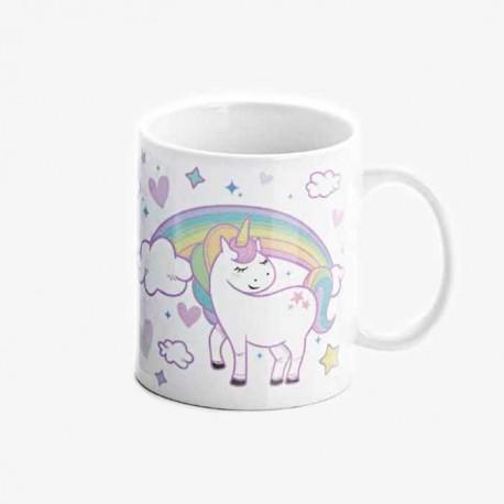 Taza regalo para Comunión Unicornio