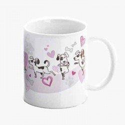 Taza regalo para boda, adoro mi mascota