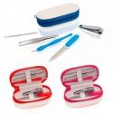 Set 5 accesorios de manicura y estuche