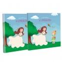 Libro Comunión con estuche, niñas con cometa