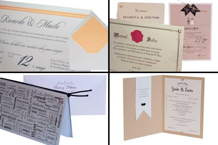 Invitaciones de boda Esencia
