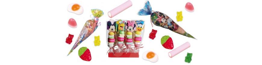 f18cae832 Chuches y golosinas para fiestas infantiles Rellena nuestros conos y  brochetas con las deliciosas chuches que