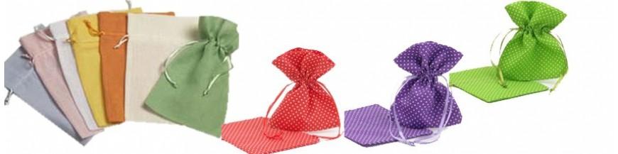 ¿Has pensado en bolsasde algodón para la presentación de tus regalos de invitados? Bolsas en Algodón, para presentar los detalles para boda, comunión o bautizo.