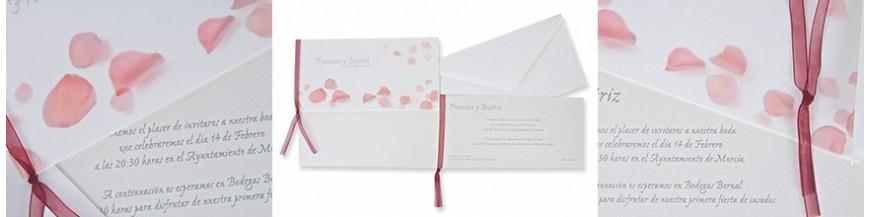 Invitaciones de boda colección ESENCIA. Estilo, elegancia, clasicismo para un día inolvidable.