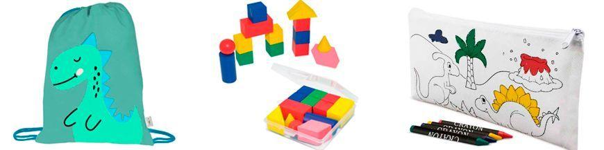 Detalles originales paralos niños A la hora de elegir el detalle para los más pequeños, te proponemos que pienses como ellos. Los niños desean cosas originales y que, a la vez, desarrollen toda su creatividad. Disponemos de estuches de lápices de...
