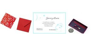 Complementos para las invitaciones