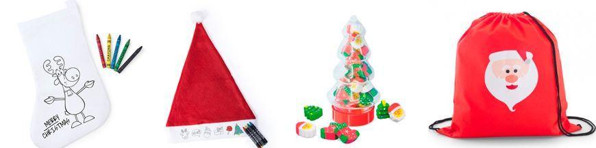 Detalles infantiles para navidad Los niños son los protagonistas indiscutibles de la Navidad. Te proponemos un amplio surtido de regalos para los peques con originales motivos navideños, que además de divertir fomentan el desarrollo de su imaginación...