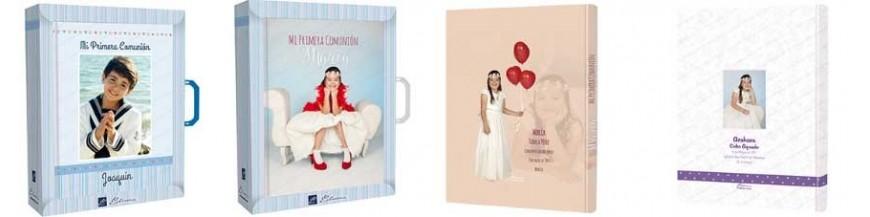 Libros de primera comunión personalizables. Libros de Primera Comunión personalizados con la fotografía del niño o de la niña a todo color. Libros con 60 páginas a todo color, con hojas para firmas, fotos, recordatorios, regalos, … Acabado de primera...