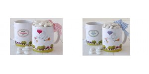 Tazas mug personalizados Bautizo