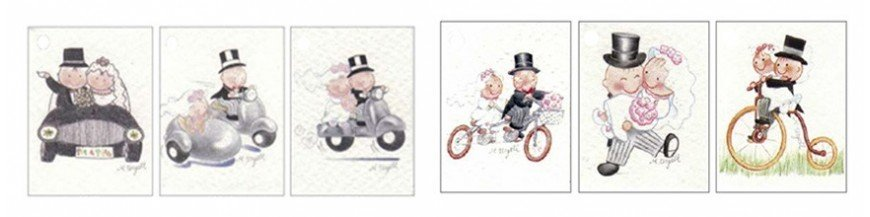 Personaliza tus regalos de boda de una forma rapida y sencilla: utiliza estas tarjetitas para los detalles Exclusivas y llamativas tarjetas para añadir a los detalles que quieres ofrecer a tus invitados. Elige entre los modelos que te proponemos el...