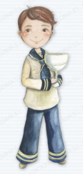 Niño marinero con cáliz