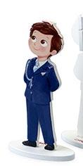 Portafotos niño almirante para comunión